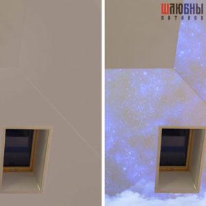 Натяжные потолки Double vision в Могилеве фото 2