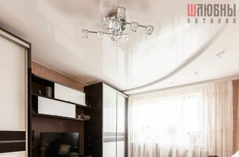 Двухуровневый потолок в гостиную в Могилеве фото 1