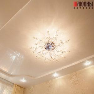 Двухуровневый потолок в спальню в Могилеве фото