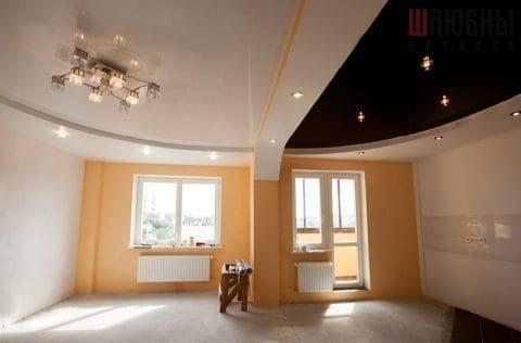 Многоуровневый потолок в студию в Могилеве фото 1