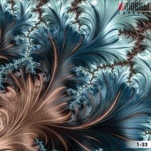 Натяжной потолок абстракция 1-33 в Могилеве фото