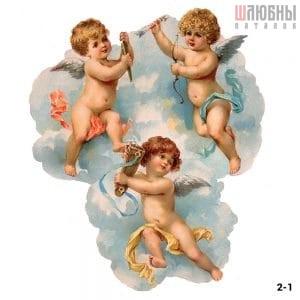 Натяжной потолок ангел 2-1 в Могилеве фото