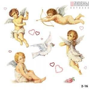 Натяжной потолок ангел 2-16 в Могилеве фото