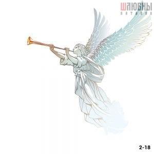 Натяжной потолок ангел 2-18 в Могилеве фото