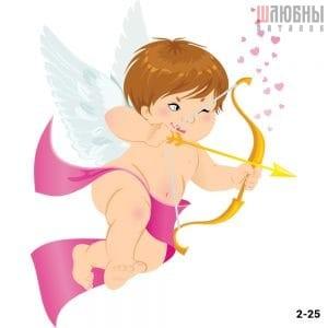 Натяжной потолок ангел 2-25 в Могилеве фото
