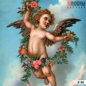 Натяжной потолок ангел 2-26 в Могилеве фото