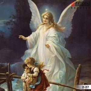 Натяжной потолок ангел 2-27 в Могилеве фото