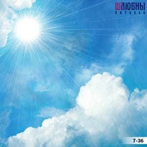 Натяжной потолок Небо 7-36 в Могилеве фото