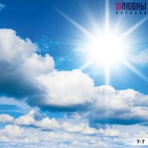 Натяжной потолок Небо 7-7 в Могилеве фото