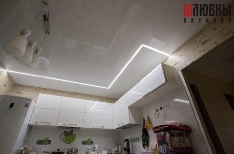 Парящие линии в кухню в Могилеве фото 1