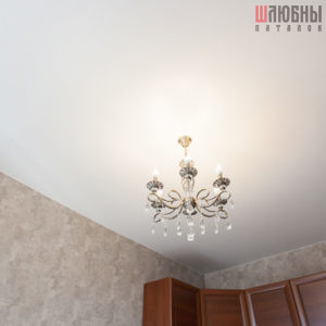 Сатиновый потолок в спальню в Могилеве фото